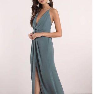 TOBI teal maxi dress